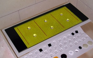Fused Glass Tray - Before Firing