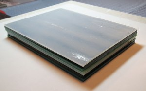 Stacked Fusible Glass