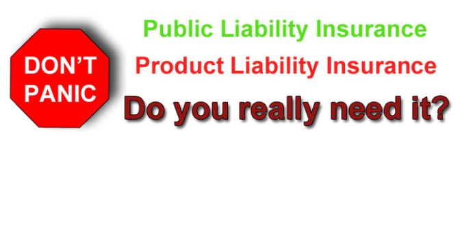 Product and Public Liability Insurance for Markets Etc