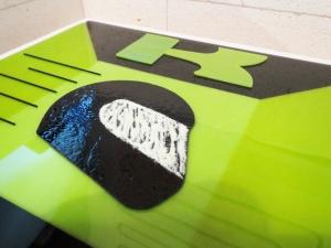 Kawasaki Dreaming - Helmet and logo detail